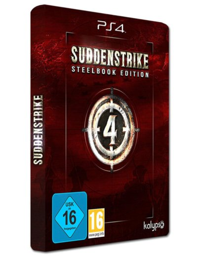 Sudden Strike 4 Limited Edition Steelbook-PS4