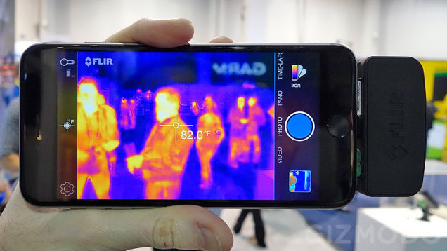 FLIR ONE: Thermal Imaging for iOS and Android