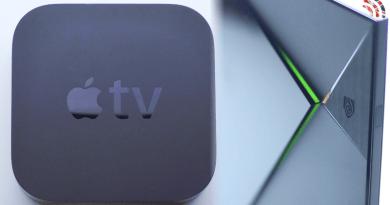 Apple Tv Nvidia Shield