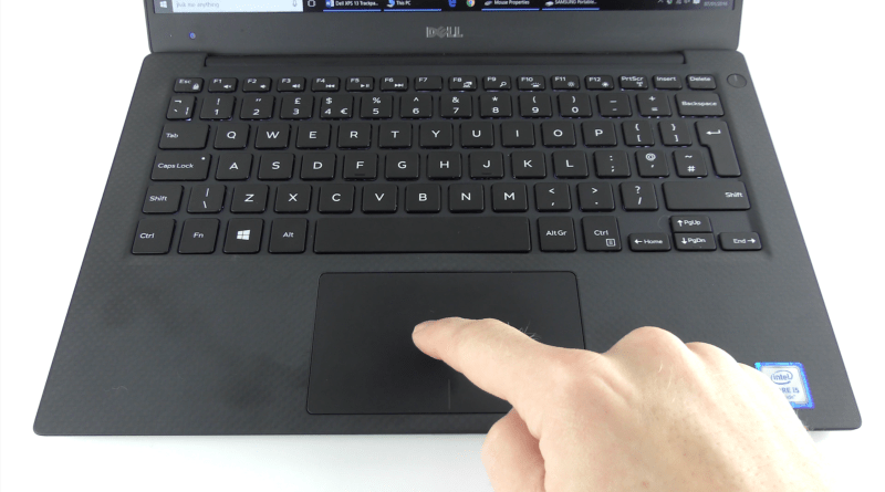 Dell XPS 13 Trackpad Tip