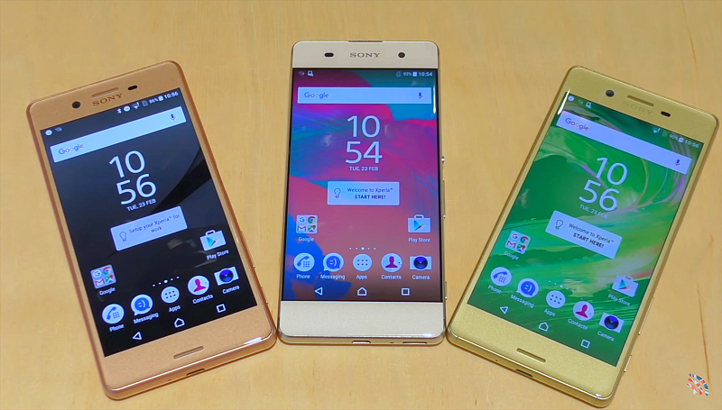 Sony Xperia X vs XP vs XA Hands-On Review