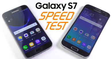 Galaxy S7 Speed