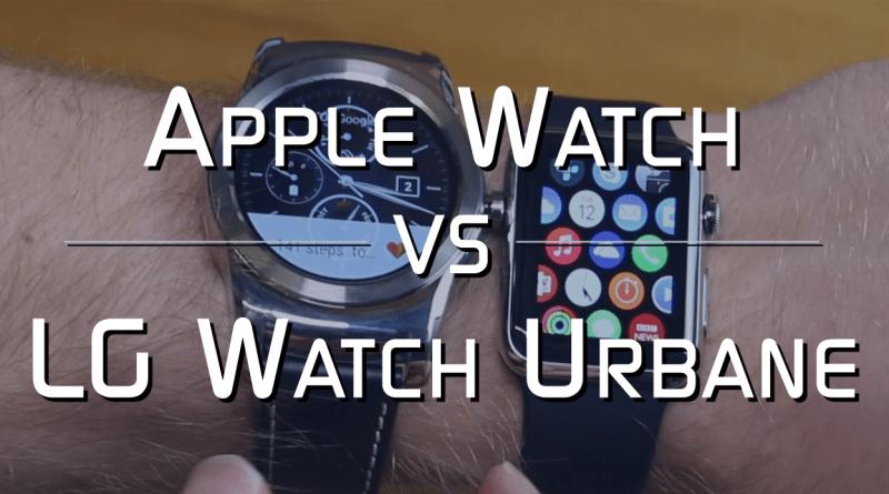 Apple Watch vs LG Watch Urbane Thumbnail