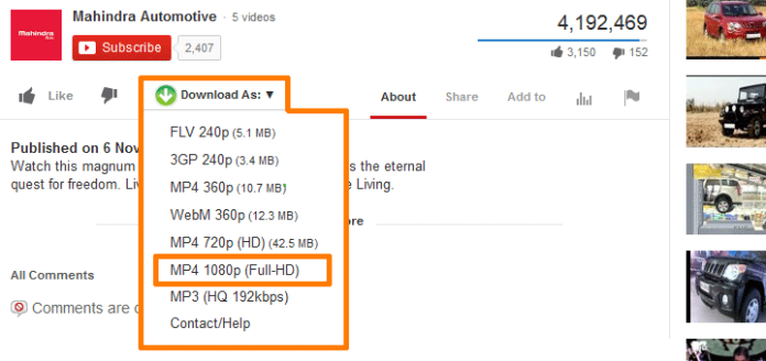 Best Firefox Addons To Download Youtube Videos