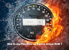 How to Use Pendrive as an Extra Virtual RAM