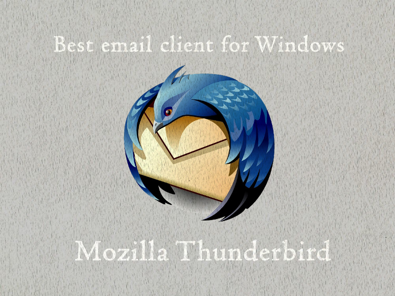 Best Email Client For Windows - Mozilla Thunderbird