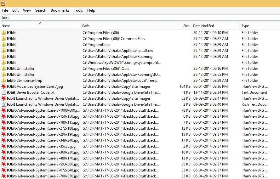 Best desktop search engine Everything
