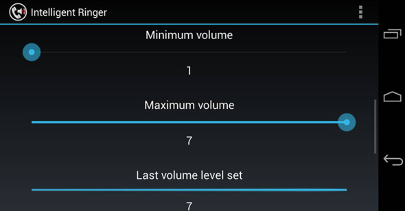 Adjust Ringer for Android Automatically based on Noice level around you