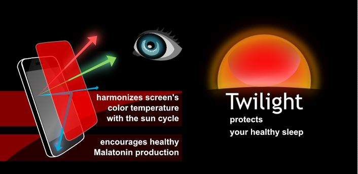 Adjust your Android Screen Brightness by Time using Twilight