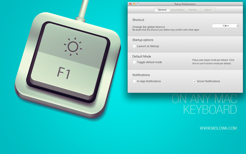 Quickly Switch Between Standard And Apple Function Keys With Palua thetechhacker