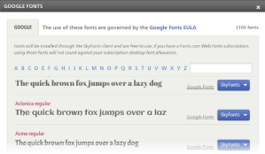 Use Google Fonts on Windows and Mac For Faster Web Browsing thetechhacker