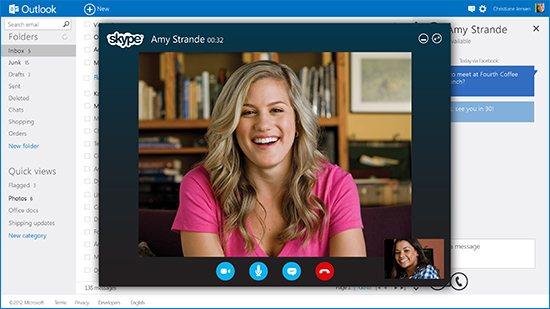 How to Make Skype Calls in Outlook.com thetechhacker