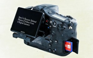 How To Recover Deleted Photos & Videos From A Digital Camera thetechhacker
