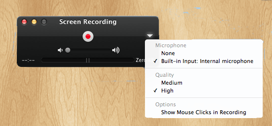 Quicktime Skype Recording