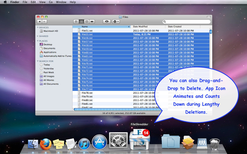 Fileshredder UI