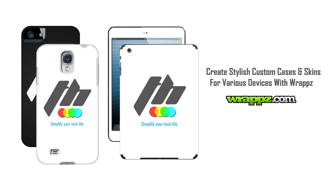 Create Stylish Custom Cases & Skins For Various Devices With Wrappz