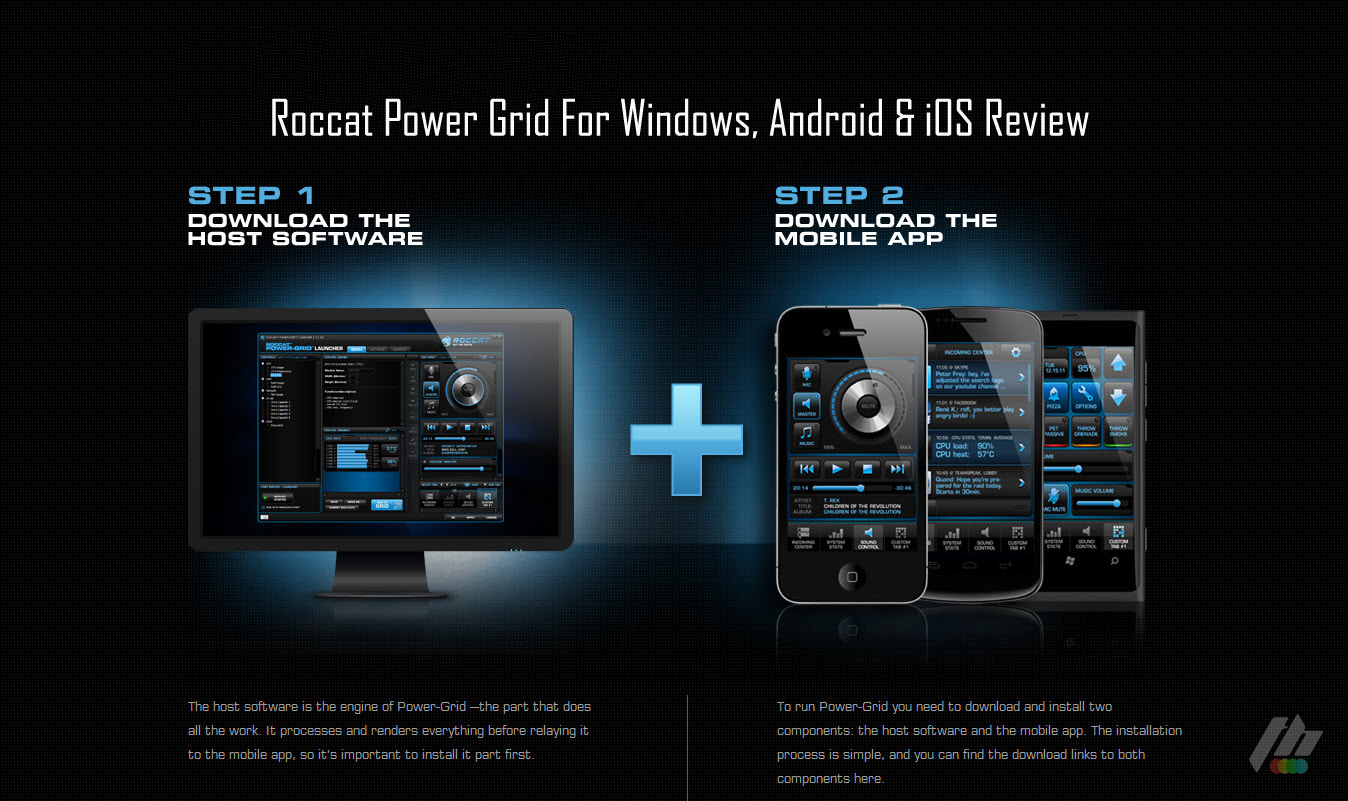 Powerful And Customizable PC Remote Control Roccat Power