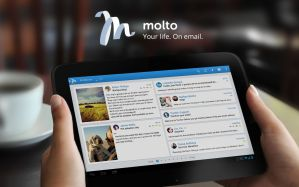 View Your Email's In A Social Networking Style User Interface With Molto