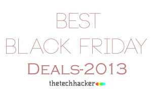 Best Black Friday Deals 2013
