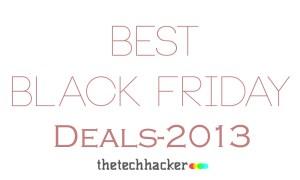 Best Black Friday Deals 2013