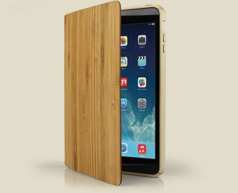 Grove Wood Smart Case For iPad Air