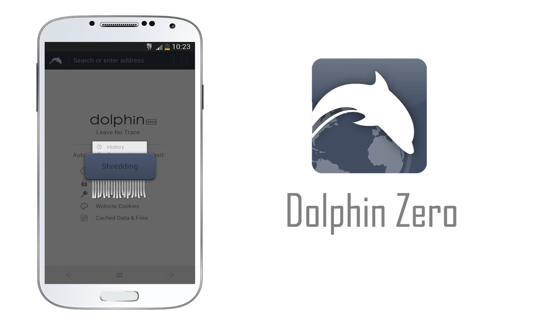 New Privacy Oriented Browser For Android-Dolphin Zero
