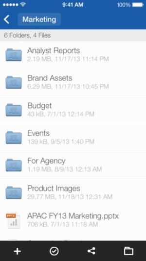 Box iOS App