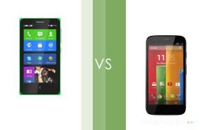 Faceoff: Nokia X vs Moto G