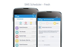 Schedule SMS On Android Easily With Fresh