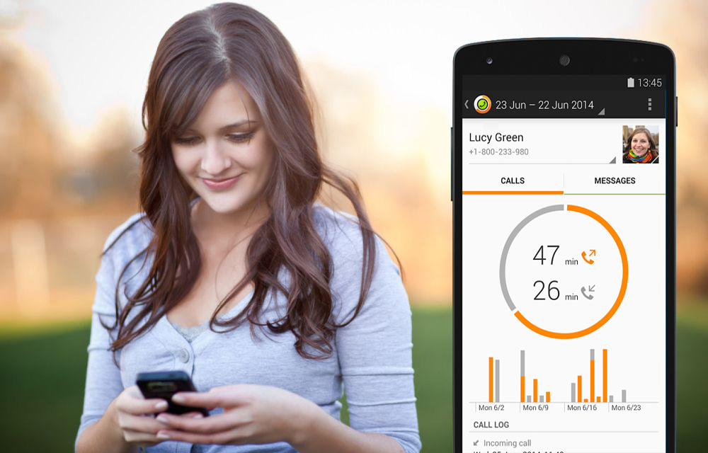 Track Your Android Phone Calls & Limit SMS Call With Callistics