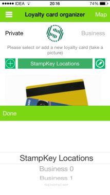 Adding Loyalty Card