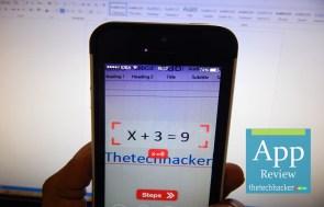 PhotoMath-iOS App Review