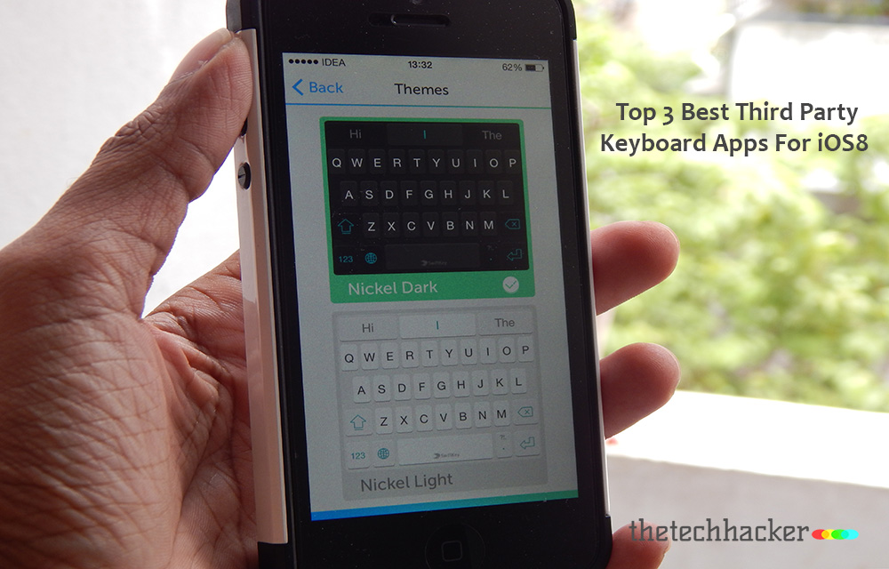 Top 3 Best Third Party Keyboard Apps For iOS8