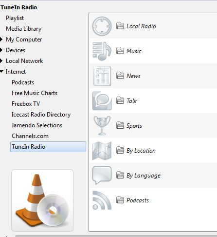 How To Listen TuneIn Radio In VLC Media Player