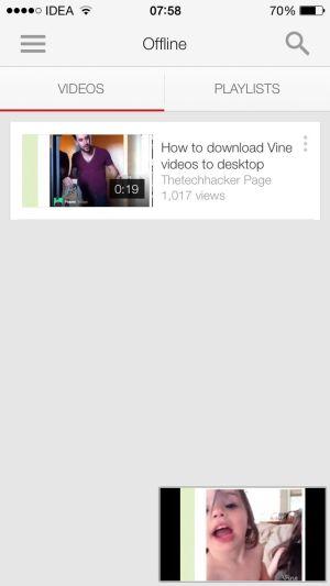 Youtube Offline viewing