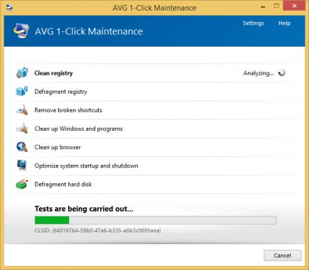 AVG 1-Click Maintenance