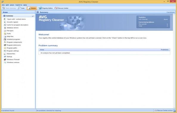 AVG Registry Cleaner