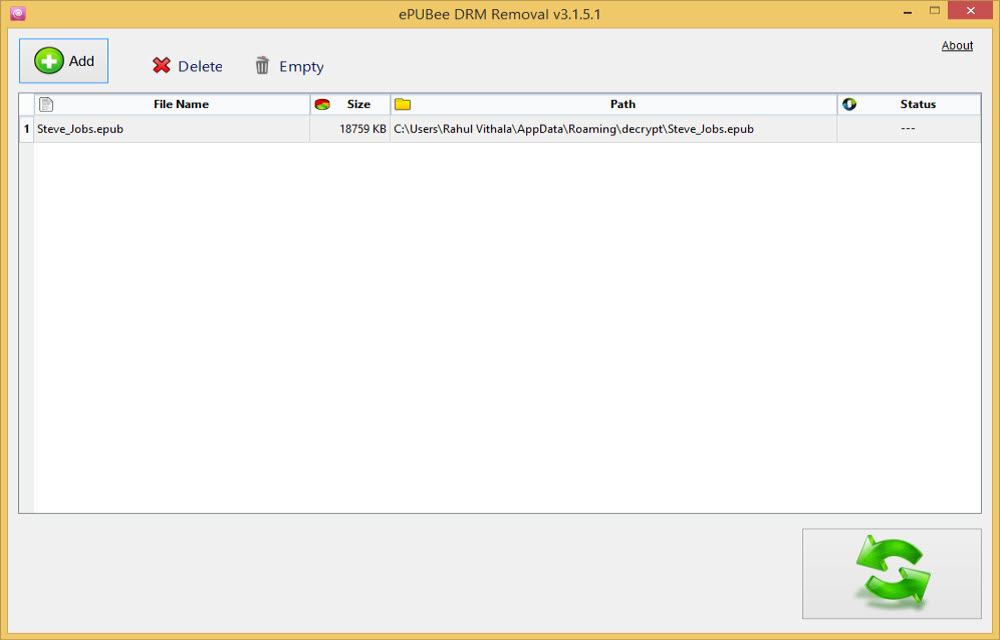 How To Remove DRM From ePub Books