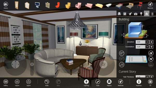 Live Interior 3D Pro Viewing Angles