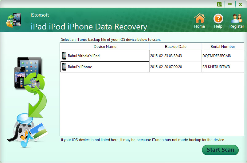 iStonSoft iPad\/iPod\/iPhone Data RecoveryReview