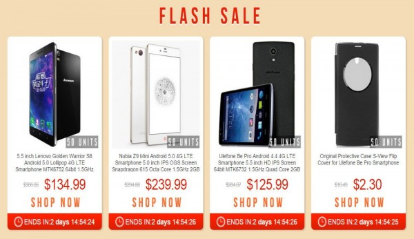 Latest Smartphone Flash Sale