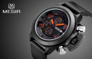 MEGIR Water Resistance Watch Review
