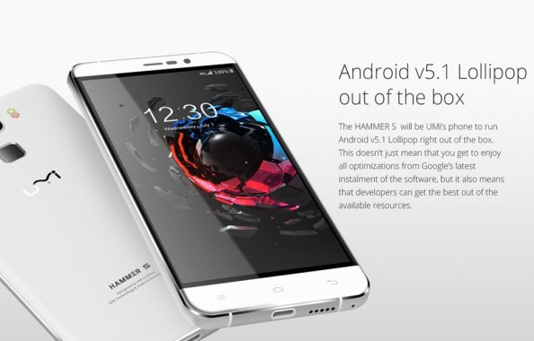 UMI Hammer S Android Smartphone Review