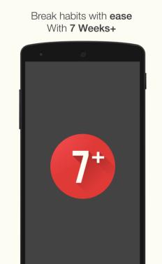 7 Weeks - Habit and Goal Tracker App