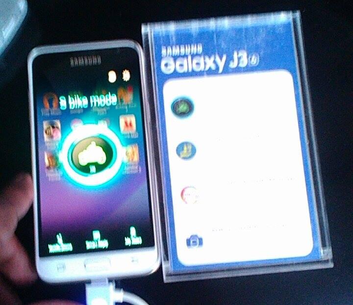 Samsung Galaxy J3 Bike Mode