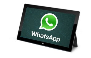 Get Whatsapp on Tablets