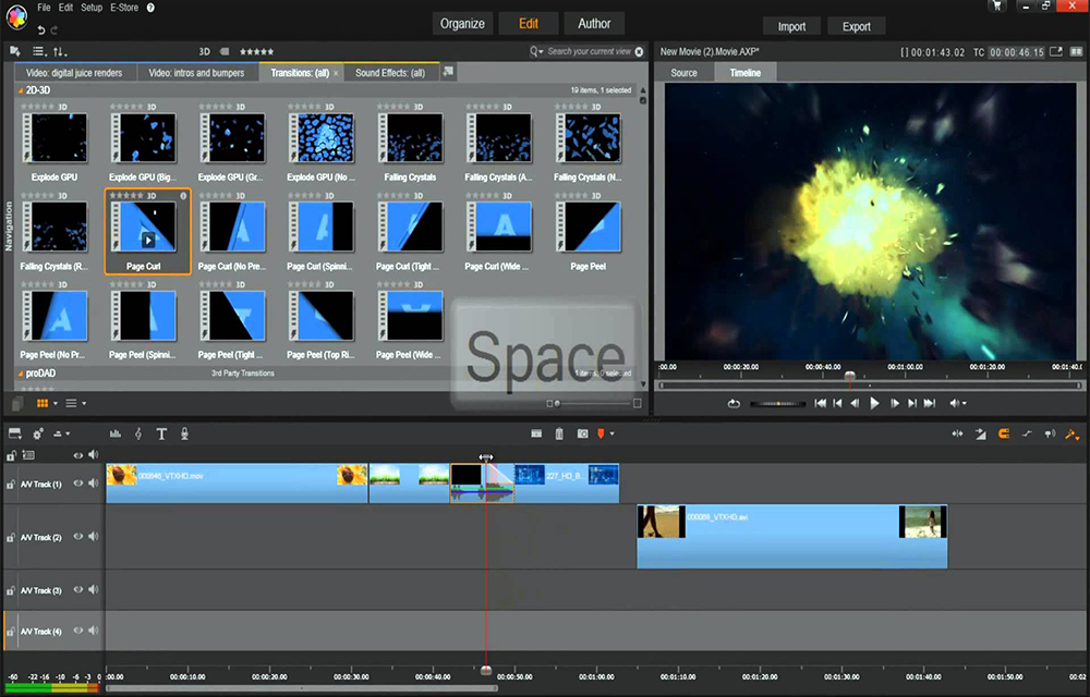Low price video editing softwares