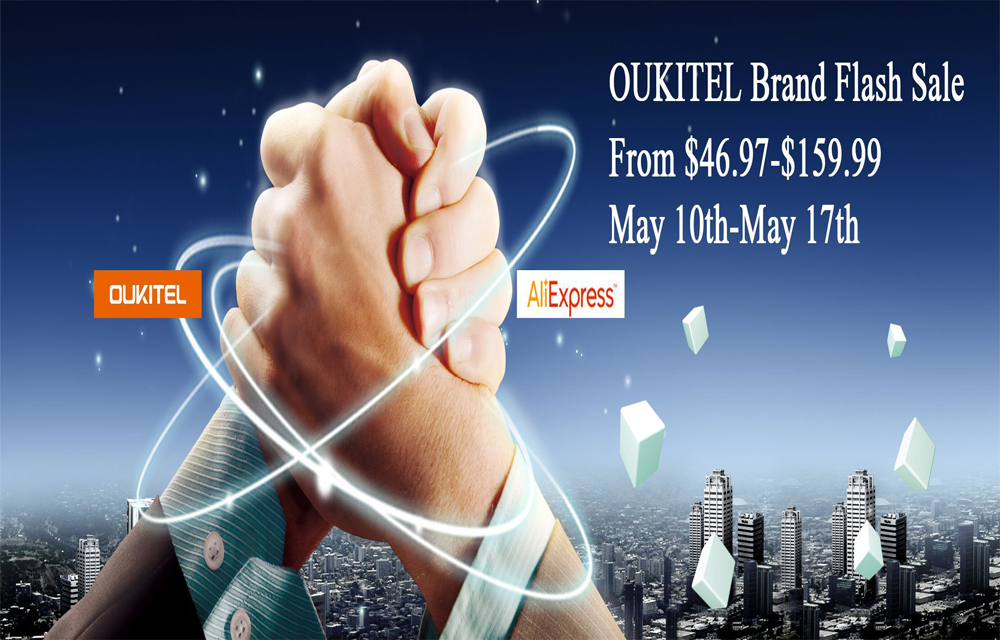 OUKITEL Brand Flash Sale on AliExpress starting from $46 97