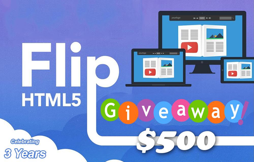 FlipHTML5 Giveaway