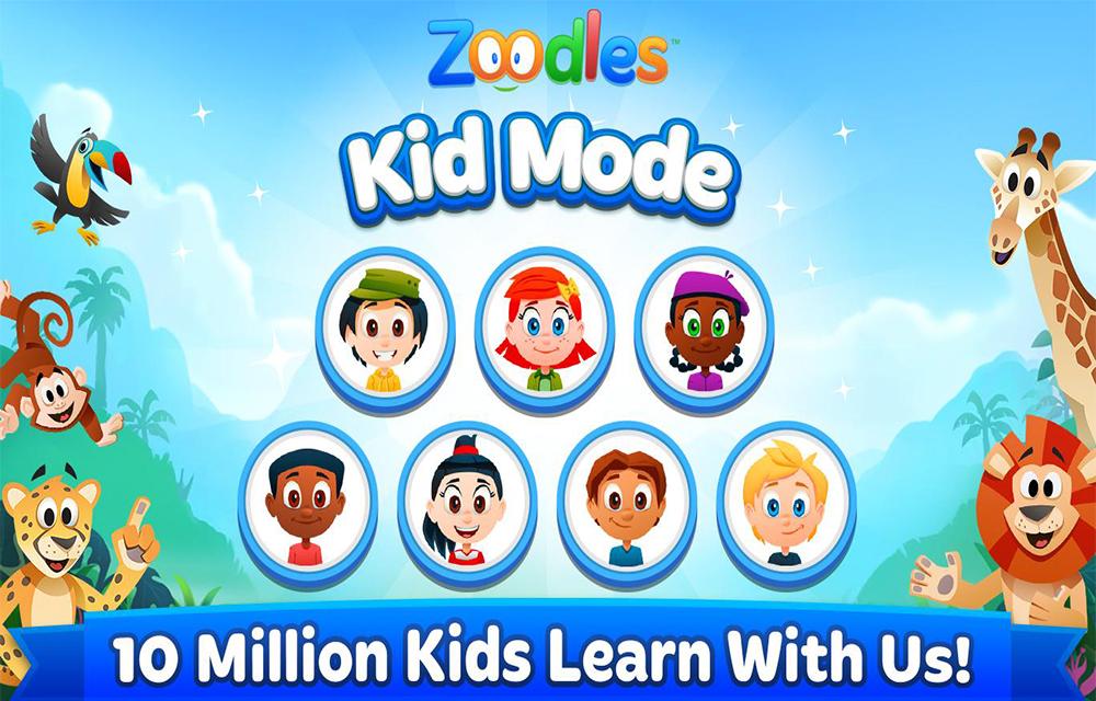 Kids Learning + lock